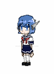 Pixel Robot-chan GIF by ChocoStyle
