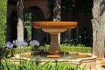 Romantic Little Fountain in the Alhambra by AgiVega