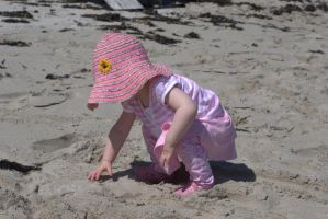 Beach baby stock1 by stockmichelle