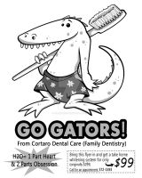 Cortaro Dental - Flyer by fillengroovy