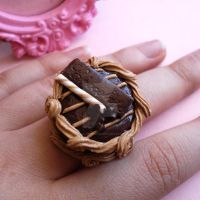 Chocolate Lovers Cake Ring by FatallyFeminine