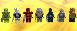 Toa Team by TheAxelandx1