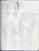 Vampire Knight hair- Part 2 by RikaYoru