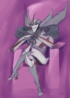 TFP Starscream practice by Pandablubb