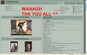 500 PAGEVIEWS... WAAAGH... by ORKSWAAAGH