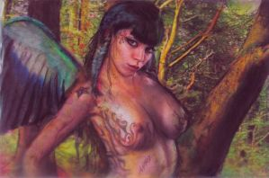 wild fairy amazona by AnnarXy