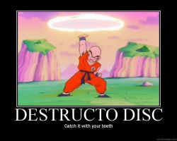 Destructo Disk by the-chosen-pessimist
