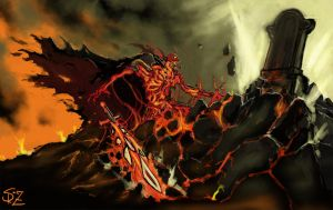 Ostarion, the Skeleton King by Halycon450
