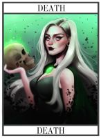 Death - Tarot Card by cosmogirll