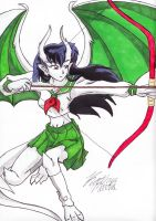 Gargoyles: Kagome by DogDemonAbridged12