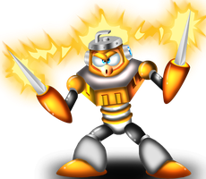 3D Spark Man by spdy4