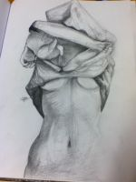graphite drawing by bruteghost