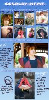 Cosplay Meme 2012-2012 by SelexiaOfTheHeart