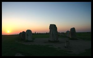 Standing stones v2 by enghell