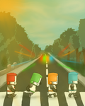 Castle Crashers Abbey Road by jhGoliath