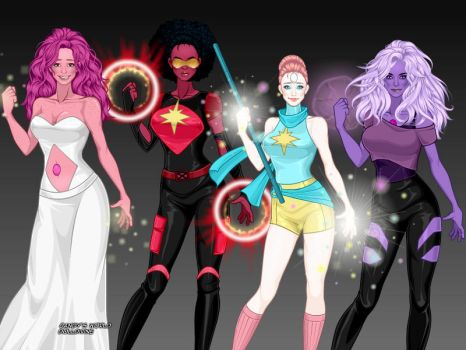 Crystal Gems: Steven Universe by TheMusesSong