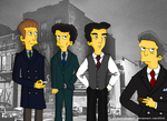 Simpsons: The Springfield Mafia by LSimpsonJazzgirl