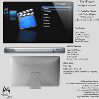 Concept Design : The iPlayer by gepalex