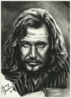 Sirius Black by thewholehorizon
