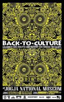 Poster Back to Culture by Dheta-Ehtmaerd