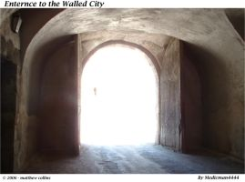 Enterce to the walled city by medicman4444