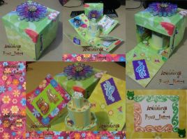 scrapbook box by puccadesire