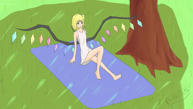 Flan in SDM Garden by Nephillith
