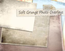 Soft Grunge Overlay Textures by Mephotos