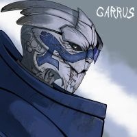 Mass effect Garrus by drowtales