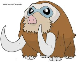 Mamoswine with Shading. by MCR3240ca
