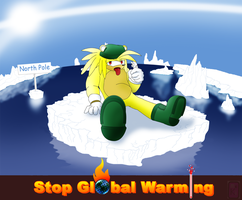 Stop global warming by McKimson