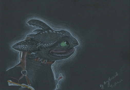 Toothless by Maythedragonlord