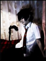 Cosplay Okumura Rin by Darkwinged-Sasuke