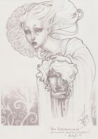 The artist and his muse by Medusa-Dollmaker