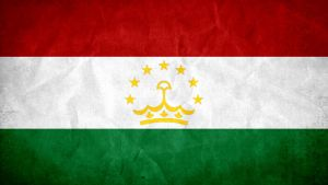 Tajikistan Grunge Flag by SyNDiKaTa-NP