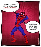 The AH-MAY-ZING Spider-Man by Louistrations