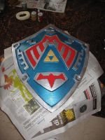 Majora's Mask-Hero's Shield by crimsontriforce