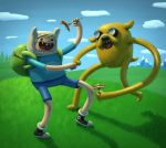 FINN and JAKE by dante-cg