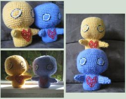 Pon and Zi Crocheted by Bruce8331