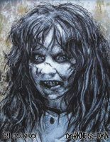 The Exorcist Regan Macneil by Darkness-Man