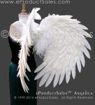 White Angelica Feather Angel Wings eProductSales by eProductSales