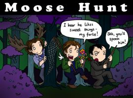 Moose Hunt by blackbirdrose