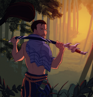 Yasuo thing by Konnestra