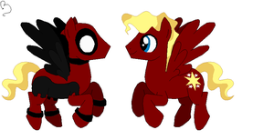 MLP .:Deadpool:. by Ask-Deadpool-Madness