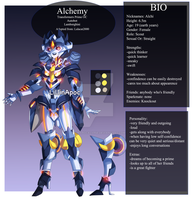 Alchemy Ref Sheet by LillinApocalypse