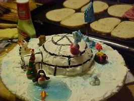 igloo cake 4 by toastles