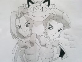 Pokemon - Team Rocket by Adhir1995