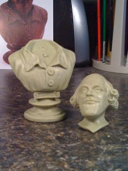 1966 Batman Shakespeare Bust 2 by scottstoybox