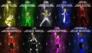 Manga Star Wars Rangers for Andr-Uril by rangeranime