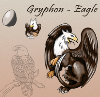 Squiby - Eagle Gryphon by Chimajra